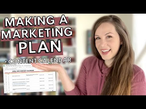 Making a MARKETING PLAN + CONTENT CALENDAR | Book Marketing from YouTube · Duration:  11 minutes 41 seconds