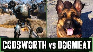 Fallout 4: Codsworth vs Dogmeat - Companion Comparison