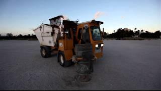 Miami Beach garbage truck
