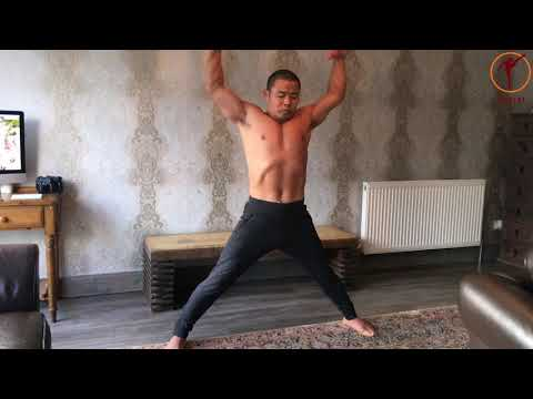Karate Workout In Living Room