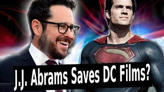 J.J. Abrams Signs HUGE Deal with WB!! DCEU SAVED!?!?