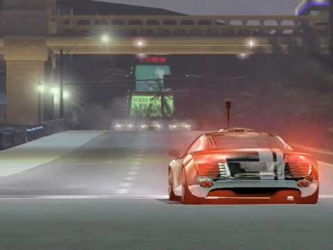 Сutscene Need For Speed Carbon in Audi LEmans R8