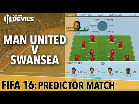 Manchester United vs Swansea City | FIFA 16 Preview
