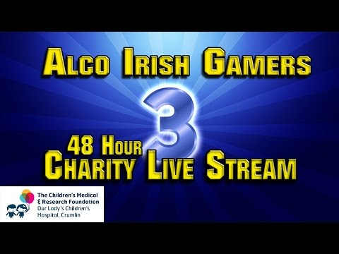 Charity LiveStream for Our Lady's Children's Hospital Crumlin | DAY 2
