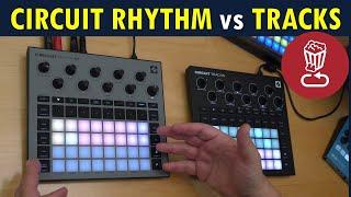 Review: Circuit RHYTHM vs TRACKS, Sampling/slicing tutorial, All factory presets // Novation Circuit