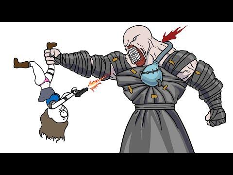 RESIDENT EVIL 3 - МУЛЬТ ОБЗОР (Анимация)