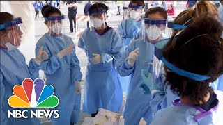 'This Is War': Medical Workers Share Their Fight On COVID-19 Frontlines   NBC News NOW