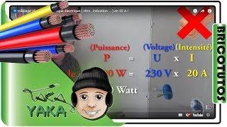 ⏩ câblage alimentation plaque électrique ( vitro , induction ... ) en 32 A !