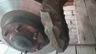 Замена сломанной колёсной шпильки ПРАДО 120