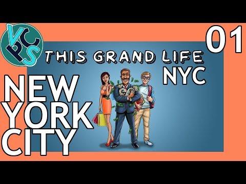 This Grand Life EP01 - New York City – New York City! Adult Life Simulator Gameplay