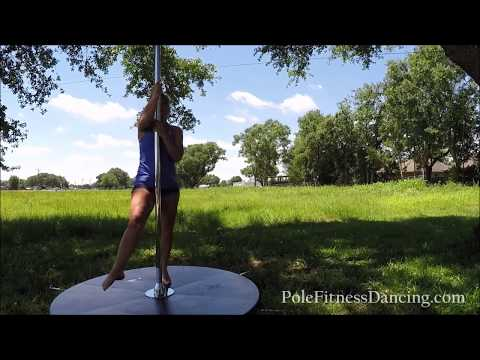 How To Stop Dizziness While Learning To Pole Dance At Home On Spinning Pole