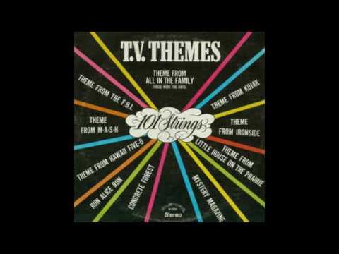 101 Strings – T.V. Themes - 1975 - full vinyl album