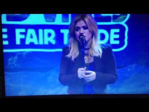 Kelly Clarkson - Sober Live Green Mountain Coffee: Fair Trade Concert