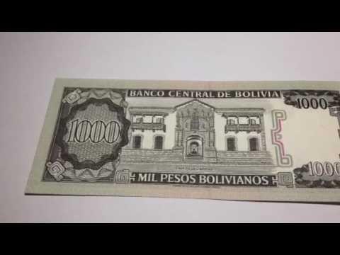 Bolivia 1,000 Pesos: date 1982