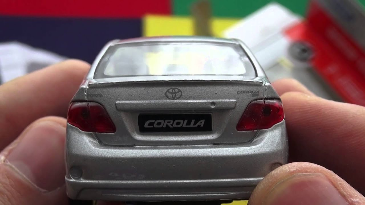 2009 Toyota Corolla Welly Toys Youtube