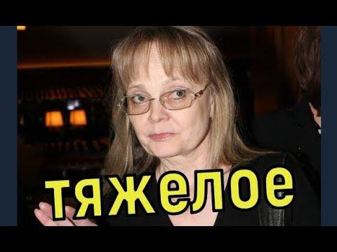 Наталья Белохвостикова попала в реанимацию