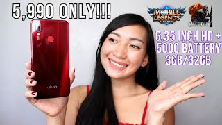 VIVO Y11 - UNBOXING & REVIEW (ML,COD,CAMERA,BATTERY & HEATING)