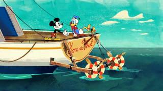 Kijk Mickey Mouse Kapitein Donald filmpje