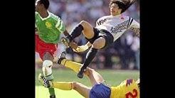 Jalkapallon MM-kisat 1990: 1. pudotuspelikierros Kamerun-Kolumbia (radioselostus)