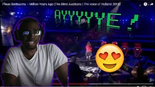 Pleun Bierbooms – Million Years Ago (The Blind Auditions 2016)! REACTION!!!
