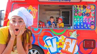 Download 블라드와 니키 새 엄마의 아이스크림 트럭을 탐구
