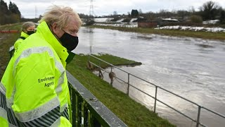 video: Storm Christoph: Temperatures to plunge to -10C after Britain battered by floods