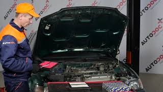 How to replace Air flow meter FIAT DOBLO Box Body / Estate (263) Tutorial