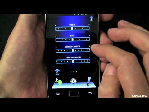 ONKYO Remote App for Android (AV Receiver AVR Remote Control Streaming)