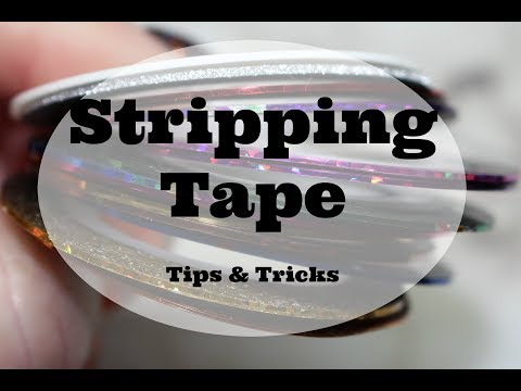 Stripping Tape Tips Tricks Youtube