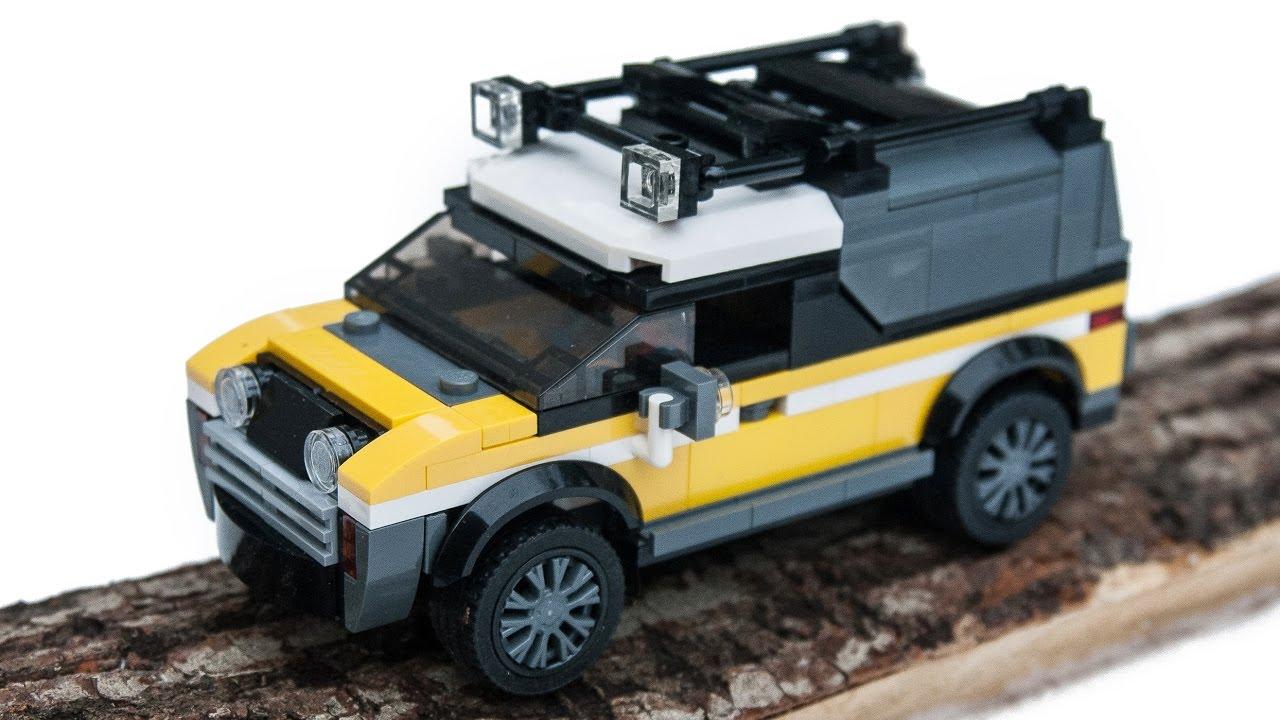 2017 lego city jungle 4x4 adventure car moc instructions. Black Bedroom Furniture Sets. Home Design Ideas