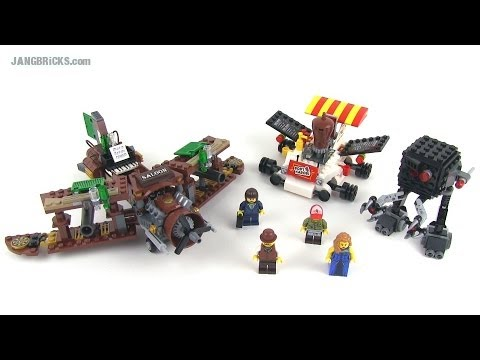 LEGO Movie set review: Creative Ambush 70812!
