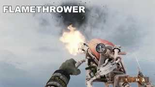 Metro REDUX 2033 All Weapons In Slow Motion [MAX DETAILS, FULL HD ]