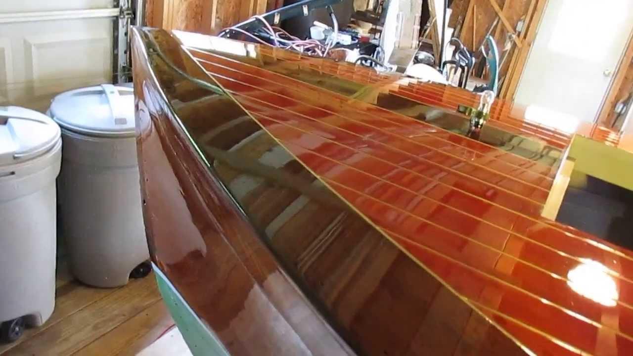 Boat Chris Craft Restoration