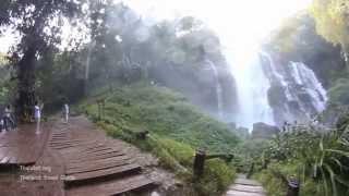 Wachirathan Waterfall , Chiang Mai - Thailand Travel Guide