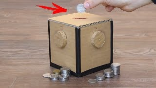 How To Make a Piggy Bank With a 4-Digit Password | Magic Box