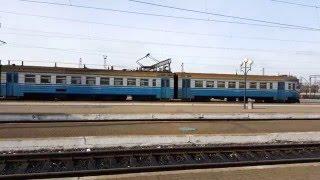 Отправление электрички, Львовский вокзал! Видео 4К!(, 2016-01-12T21:36:24.000Z)