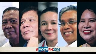 FULL VIDEO: First Presidential Debate of 2016 elections in Cagayan de Oro City
