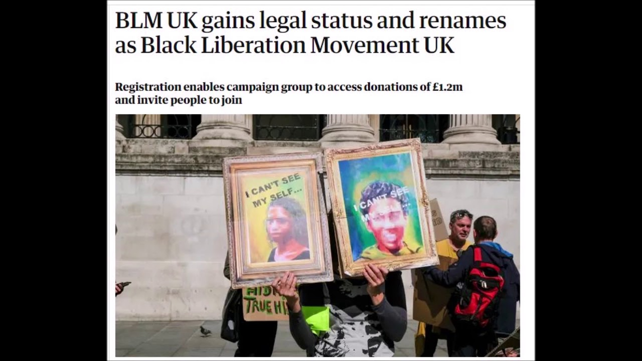 BLM Changes Name ?? 'Black Liberation Movement'