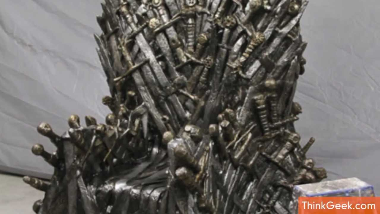 Game Of Throne Chair Old Barber Thrones Life Sized For Sale Youtube