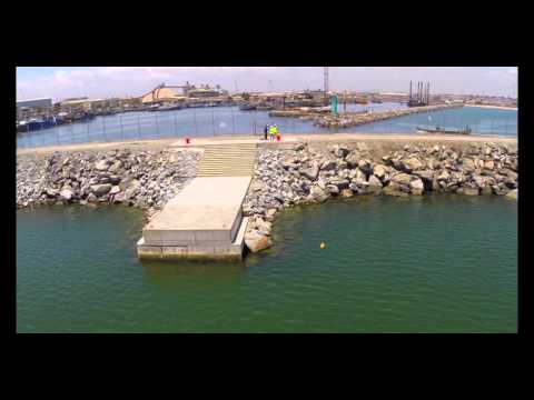 Drone shoot of Tema fishing Harbor #Ghana
