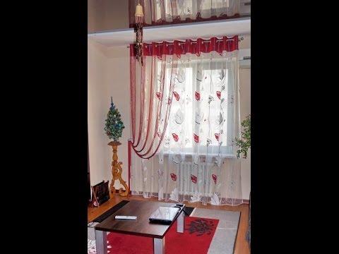 Самые прекрасные виды оформления окон в гостинной