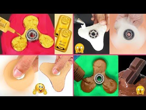 11 Super Amazing DIY Fidget spinner compilation