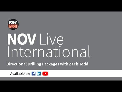 NOV Live International - Directional Drilling Packages