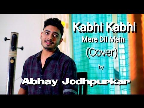 Kabhi Kabhi Mere Dil Mein (Cover) | Abhay Jodhpurkar | Khayyam | Mukesh | Lata Mangeshkar