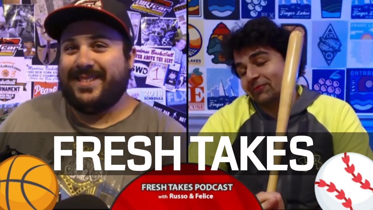 Dream home run derby & NBA Draft reaction .::. Fresh Takes w/ Russo & Felice 6/25/19