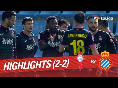 Resumen de Celta de Vigo vs RCD Espanyol (2-2)