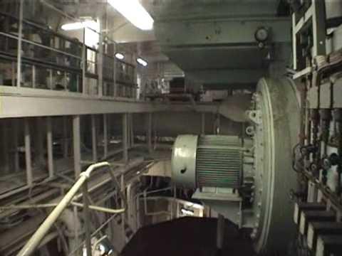 Supertanker Engine Room Tour