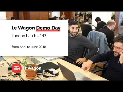 Coding Bootcamp London | Le Wagon Demo Day - Batch #143
