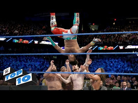 Top 10 SmackDown LIVE moments: WWE Top 10, December 26, 2017 thumbnail