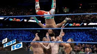 Top 10 SmackDown LIVE moments: WWE Top 10, December 26, 2017